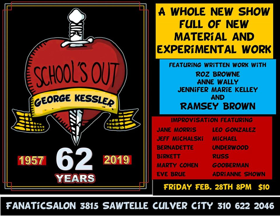 School's Out with George Kessler. Featuring Abstracto with Jeff Michalski